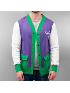 Yezz Chaqueta de béisbol Manana púrpura