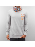 Yezz Pullover Tempest Slim Fit grau