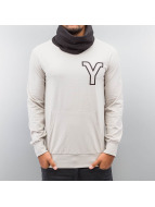 Yezz Pullover Tempest Slim Fit gris