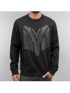 Yezz Pullover Gabun schwarz