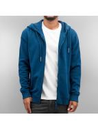 Yezz Sweat à capuche zippé Ruanda bleu