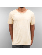 Yezz Sand Pattern T-Shirt Creme