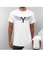 Yezz T-Shirt Wing blanc