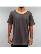 Yezz T-shirt longoversize Olloever Brush brun