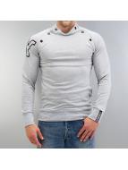 Yezz T-Shirt manches longues Dauntless gris