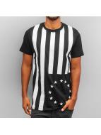 Yezz T-Shirt Stars schwarz