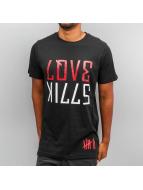 Yezz T-Shirt Love Kills schwarz