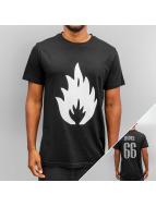Yezz T-Shirt Flame schwarz