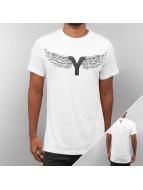 Yezz T-Shirt Wing weiß