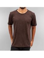 Yezz T-Shirts Splash kahverengi