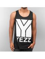 Yezz Tank Tops Big Logo musta