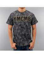 YMCMB Футболка Allover Kush серый