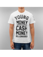 YMCMB T-Shirt Cash In blanc