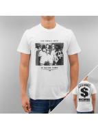 YMCMB T-Shirt Having Funds blanc
