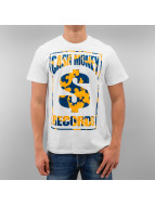 YMCMB T-Shirt Fancy Label blanc