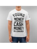 YMCMB T-Shirt Cash In weiß