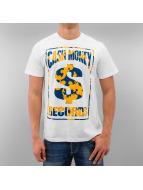 YMCMB T-Shirt Fancy Label weiß