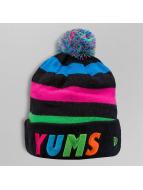 Yums Bonnets de laine Pom Classic noir