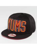 Yums New Era Neon Lights Snapback Cap Black/Red