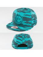 Yums Classic Tiger Snapback Cap Teal/Turquoise