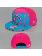 Yums Snapback Cap New Era Wildstyle Black Tag blau
