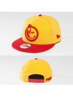 Yums Snapback Cap Classic Outline gelb