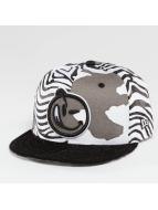 Yums Classic Outline Snapback Cap Zebra/Concrete Camo