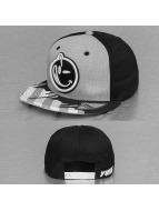 Yums snapback cap Classic Sideways grijs
