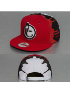Yums Snapback Cap New Era 0 To 100 Black Tag rosso