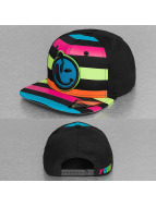 Yums Snapback Cap Classic Knitted schwarz