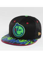 Yums Classic Meltdown Snapback Cap Black/Green/Blu/Red