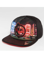 Yums South Beach Night 2.0 Snapback Cap Black/Red