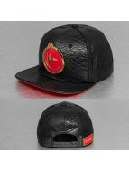 Yums snapback cap Metal Face Snakeskin zwart