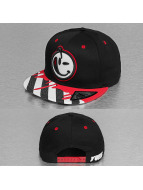 Yums snapback cap Classic Tie Dye zwart