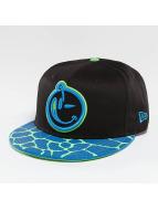 Yums snapback cap Giraffe's A zwart