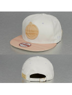 Yums Snapback Caps New Era Metal Face bialy