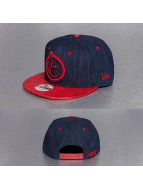 Yums Snapback Caps New Era Classic Snakeskin blå