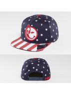 Yums Snapback Caps Star Spangled blå