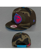 Yums Snapback Caps New Era Classic Outline Woodland camouflage