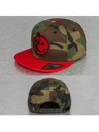 Yums Snapback Caps Classic Woodland camouflage