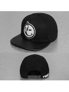 Yums Snapback Caps Classic Melton czarny