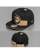 Yums Snapback Caps LUX Black Tag czarny