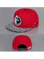 Yums Snapback Caps New Era Classic Trippy czerwony