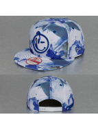 Yums Snapback Caps New Era Classic Outline Brushwork II niebieski