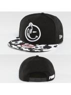 Yums Snapback Caps New Era Rorschach svart