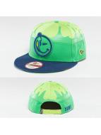 Yums Fallin Black Tag5 Snapback Cap Green/Cyber/Royal