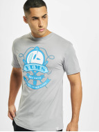 Yums Sew Up Game T-Shirt Grey/Blue/White