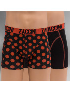 Zaccini  Shorts boxeros Royal Dots naranja