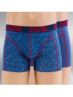 Zaccini Boxer Short Denim 2-Pack blue