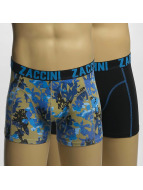 Zaccini Boxer Short Painted Flowers green